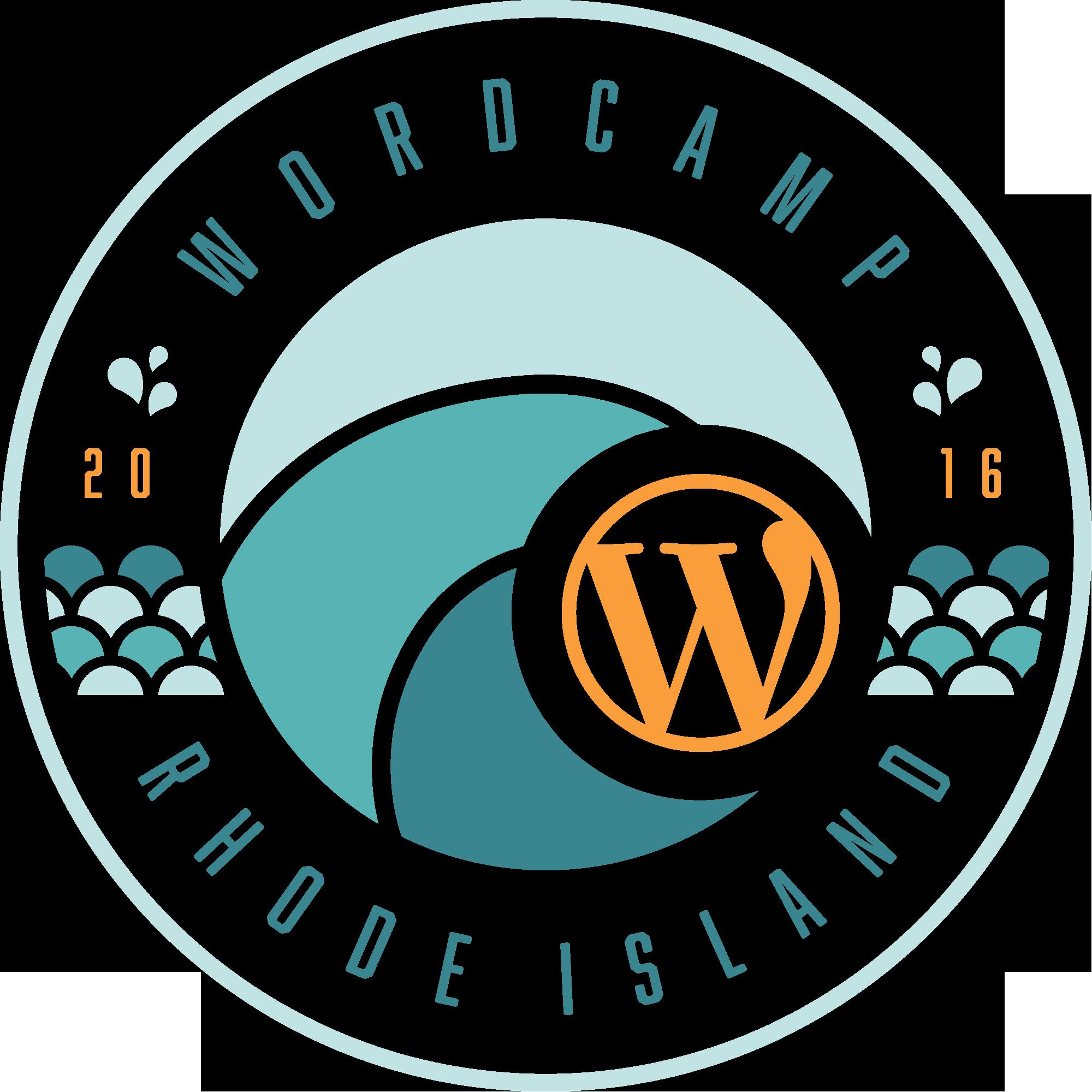 2016 WordCamp Rhode Island logo