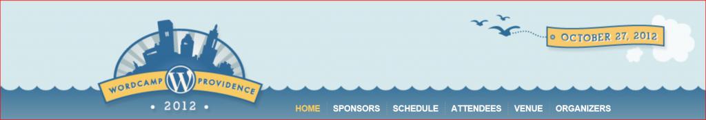 2012 WordCamp Providence logo