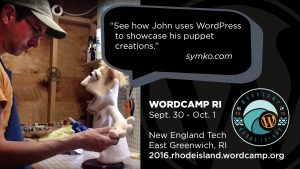 Create a portfolio at WordCamp RI